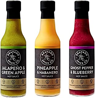 Bravado Spice Co. Hot Sauce 3-Pack
