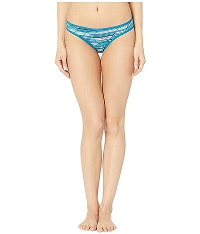 Smartwool Merino 150 Print Bikini (Light Marlin Blue) Women