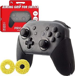 A5(エーファイブ) Switch Pro エイム コントローラー グリップ 滑り止め【張り替え保証付属】PRIGMA (プリグマ) AIMINGGRIP for Switch Pro