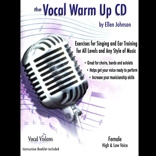 The Vocal Warm Up Cd/Female High & Low Voice by Ellen