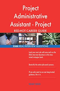 Project Administrative Assistant - Project Coordinator RED-HOT Career; 2588 REAL
