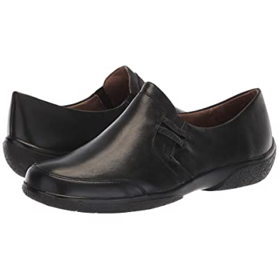 Walking Cradles Ace (Black Burnished Leather) Women