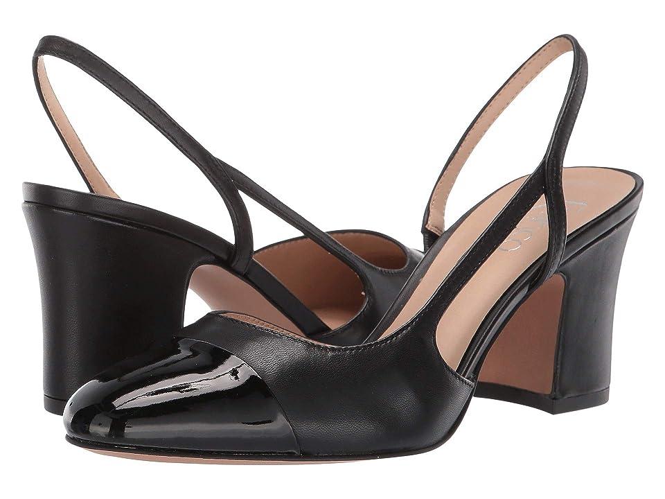 Franco Sarto Imogen (Black/Black) Women's Shoes