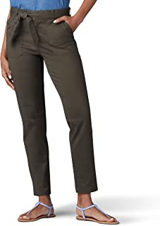 Lee womens Regular Fit Straight Leg Utility Ankle Pant Pants