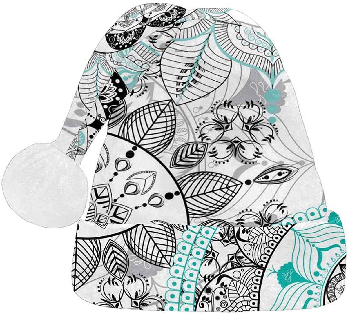 InterestPrint Cheap mail order specialty store Christmas Santa Hat Fashion Rare for Design Adults