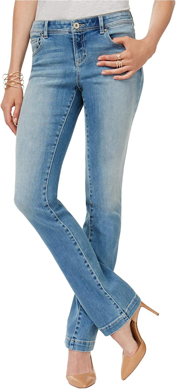 INC Womens Bootcut Slim Fit Jeans