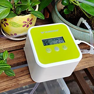 WF Automatic Drip Irrigation System, Indoor Plant DIY Smart Irrigation Kit Self Watering System for House Plants, Watering...