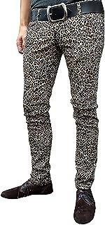 Da Uomo & Unisex Stampa Animale Leopardo Indie Punk Tubolare Pantaloni
