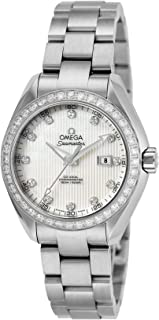 Seamaster Aqua Terra watch white pearl dial Co-Axial automatic 231.15.34.20.55.001