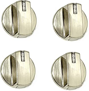 4 x AEZ73293801 Replacement for LG Gas Cooktop Knob Assembly EBZ60710601
