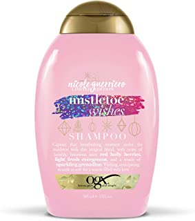 OGX Nicole Guerriero Limited Edition Mistletoe Wishes Shampoo, 13 Ounce