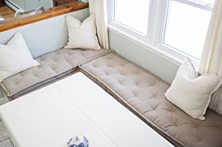 Wool Bench Cushion/Fits IKEA Kallax/Custom Sizes, Shapes & Fabrics Available