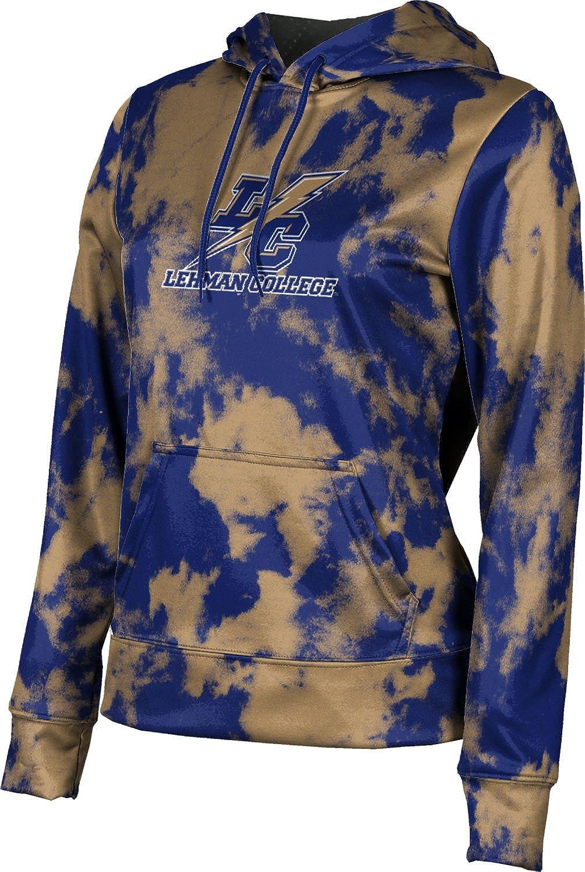 ProSphere Lehman College Girls' Pullover Hoodie, School Spirit Sweatshirt (Grunge)