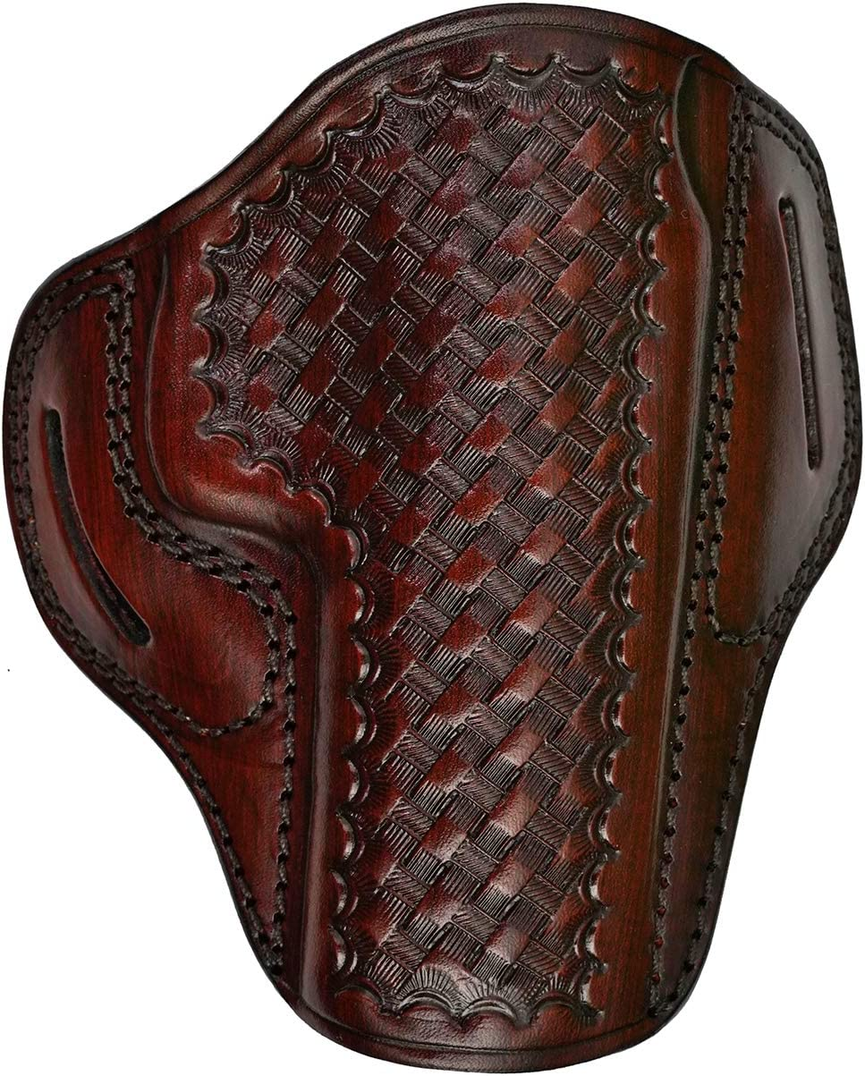Leather Holster Store for Canik TP9 Series - Weave Le Genuine Basket Trust