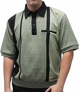 Palmland Safe Harbor Short Sleeve Banded Bottom Shirt -Sage