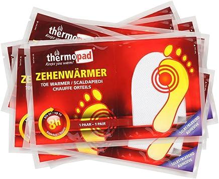 50 PAAR THERMO company selbstklebend Sohlenwärmer Fußwärmer Thermopad Heizpad 8h