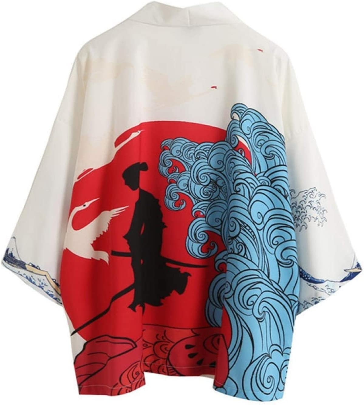 Seattle In stock Mall bayue Spring and Summer New Robe Cra Road Ukiyo-e Japanese-Style