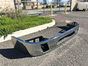 Volvo VNL Steel Bumper With Fog Light Holes WITH Brackets