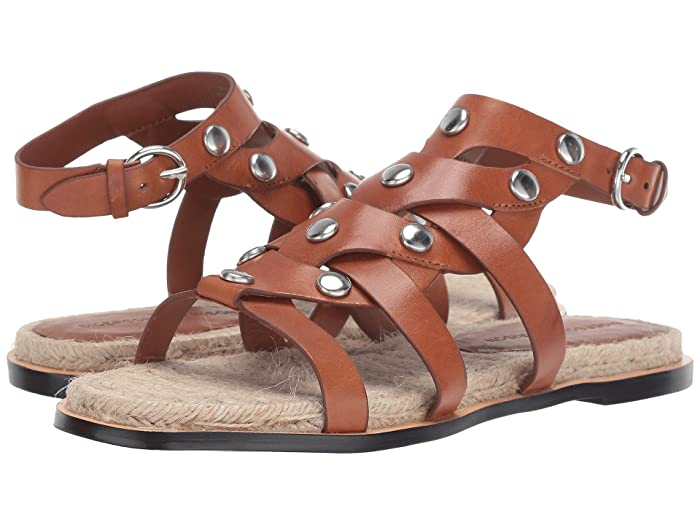 Vintage Sandal History: Retro 1920s to 1970s Sandals Sigerson Morrison Jessa Couio Vachetta Womens Sandals $151.50 AT vintagedancer.com