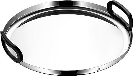 Preisvergleich für WMF CoffeeTime Tablett, Ø 39 cm, Cromargan Edelstahl poliert, spülmaschinengeeignet