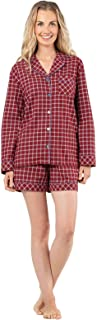 Pajamas Women Cotton Flannel - Plaid Pajamas for Women, Red