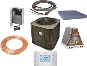 Payne - 2 Ton 13 SEER Residential Energy Star Air Conditioner unit with Installation Kit- PA13NA02400G