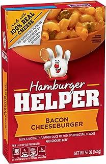 Betty Crocker Hamburger Helper Bacon Cheeseburger 5.1 oz Box (pack of 6)