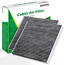 Kootek 2 Pack Cabin Air Filter for CF10134 Honda & Acura, Accord/Odyssey/Pilot/Ridgeline/CSX/ILX/MDX/RDX/TLX/RL//RLX/Civic/Croostour/CR-V Active Carbon Filters Dust Pollen Gases Odors
