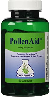 Pollenaid Flower Pollen Extract By Graminex, 90 Count