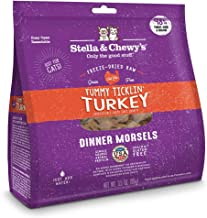 Stella and Chewy's Freeze-Dried Raw Turkey Dinner Morsels for Cats 3.5 Ounce