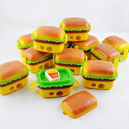 Jiada Burger Style Sharpener And Eraser Goody Bag Fillers