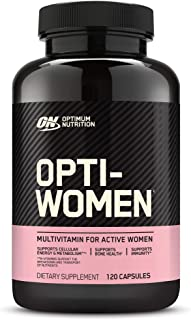 Optimum Nutrition Opti-Women, Vitamin C, Zinc and Vitamin D for Immune Support Womens Daily Multivitamin Supplement with I...