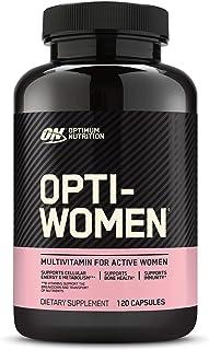 Optimum Nutrition Opti-Women, Vitamin C, Zinc and Vitamin D for Immune Support Womens Daily...