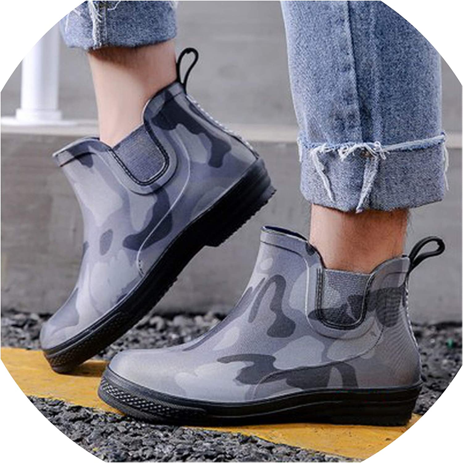 FAT BABY Rainboots shoes Woman 2019 Ankle Rain Boots Female Waterproof Water shoes Quality Ladies Wellies Rainboots