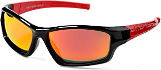 Kids Polarized Sports Sunglasses for Boys and Girls...