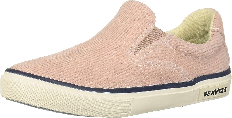 SeaVees Unisex-Baby Kids Hawthorne Cordies Sneaker, Rose dust, 5C M US Toddler