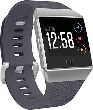 Fitbit Ionic Smart Fitness Watch - Blue Grey/Silver