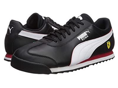 PUMA SF Roma (Puma Black/Puma White/Rosso Corsa) Men