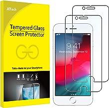 JETech Pellicola Protettiva Compatibile iPhone 8, iPhone 7, iPhone 6s, iPhone 6, Vetro Temperato, Pacco da 2
