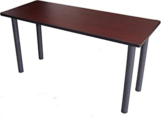Boss Office Products NTT2436-M Training Table (Legs Sold Seperatly) in Mahogany