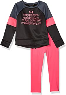 Under Armour Baby Girls' Heart Splatter Bodysuit Set