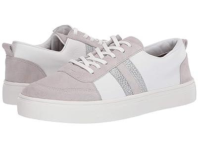 KAANAS Elba Suede Front Lace-Up Sneaker (Grey) Women