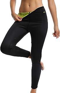 Leggins Deportivas para Mujer para Adelgazar Leggins Anticeluliticos Mallas Termicos de Neopreno Fitness Deporte Correr Yoga Pantalón de Sudoración Adelgazantes