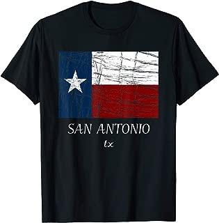SAN ANTONIO TX TShirt   Texas Flag - City State Tee