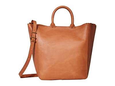 Madewell Abroad Tote (Desert Camel) Handbags