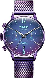 Welder moody Mens Analog Quartz Watch with Stainless Steel bracelet WWRC821
