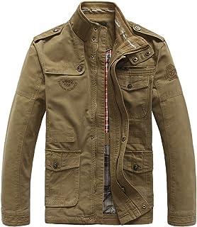 3affdd4fc Amazon.es: chaqueta militar hombre - Beige