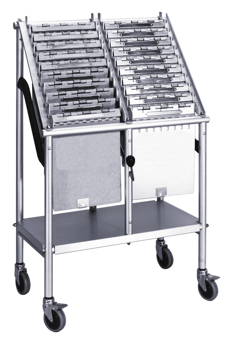 Amazon Com 2 Tier Wheeled Chart Carrier File Cart Utility Carts Office Products