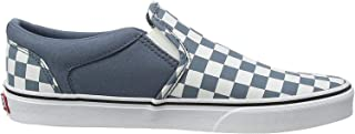 VANS MN ASHER, Men's Athletic & Outdoor Shoes, CHECKERBOARD Blue Mirage/White