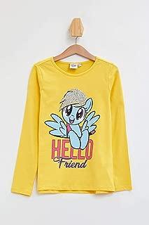 DeFacto My Little Pony Lisanslı Uzun Kollu T-shirt